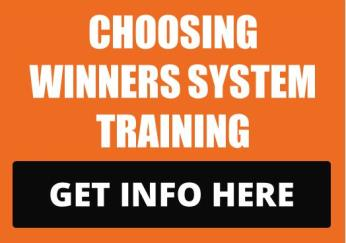 Choosing Winners System Training VisionSpark