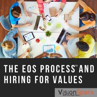hiring for values in the EOS process