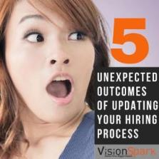 5 unexpected outcomes of updating your hiring process