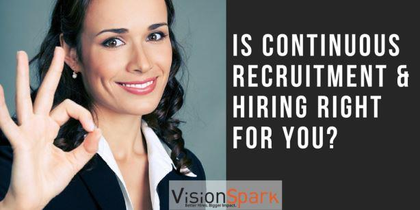 continuous recruitment