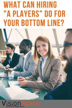 hiring a players for your bottom line