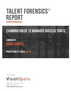 Talent-Forensics Report_Manager example 1