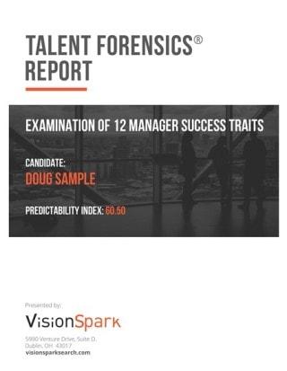 Talent Forensics Report