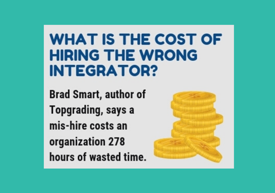 Hiring an Integrator Infographic