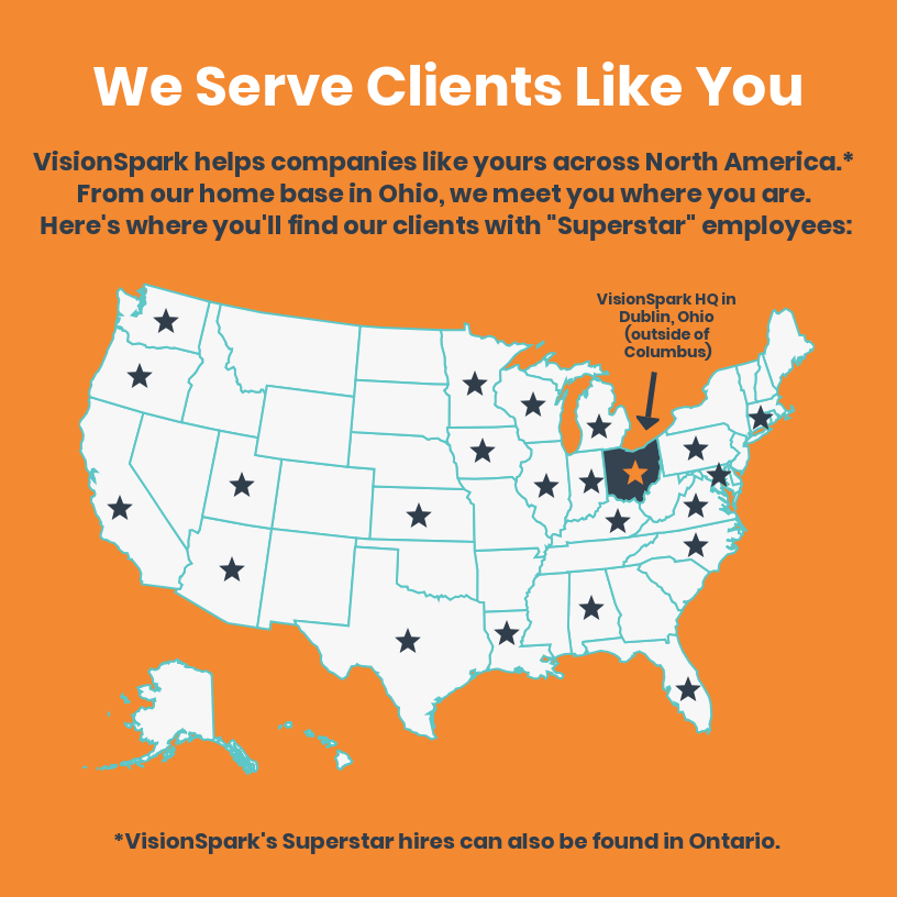 VisionSpark Serves Clients Like You